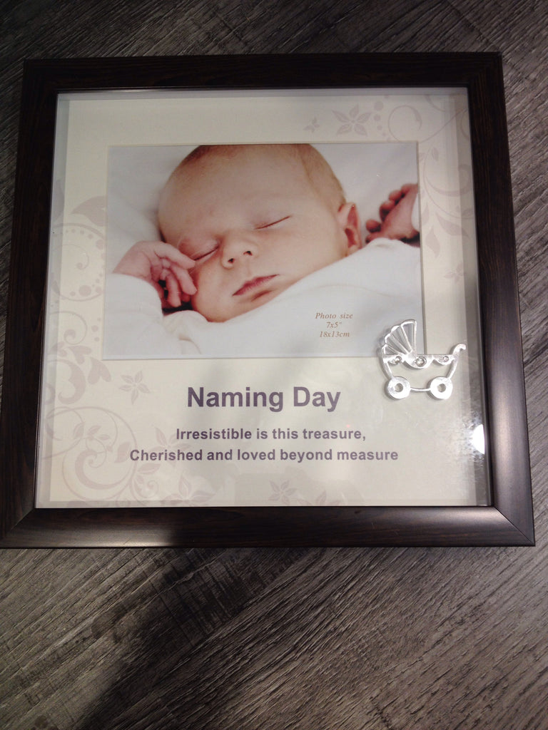 Russell Collection-  Heritage Naming Day Frame 5x7' - Sweet Thing Baby & Childrens Wear