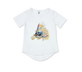 Walnut + May Gibbs Frankie P Tee - Wattle Wren (Size 000 - 4)
