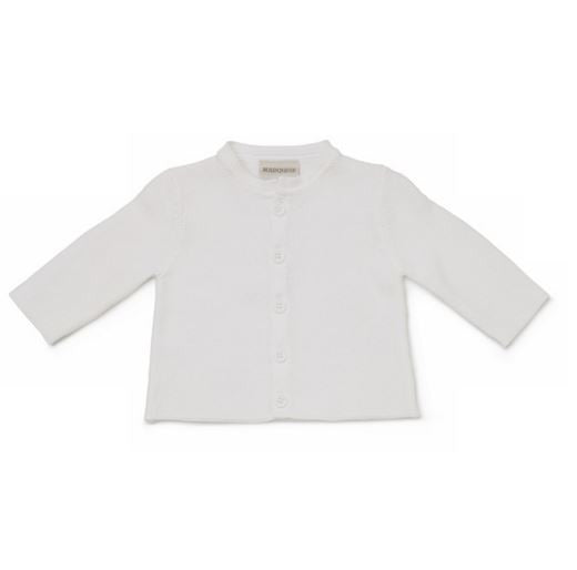 Marquise 100% Knitted Cardigan- White - Sweet Thing Baby & Childrens Wear