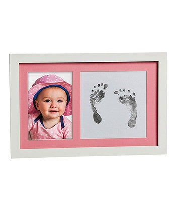 Blossoms & Bubs Baby Photo Frame  Ink Imprint Kit Pink or Blue - Sweet Thing Baby & Childrens Wear