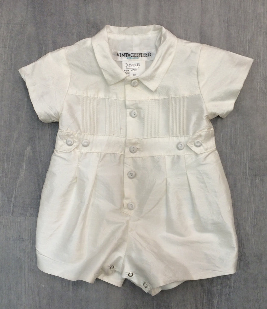 Vintagespired- Boys Christening Suite-Ivory - Sweet Thing Baby & Childrens Wear
