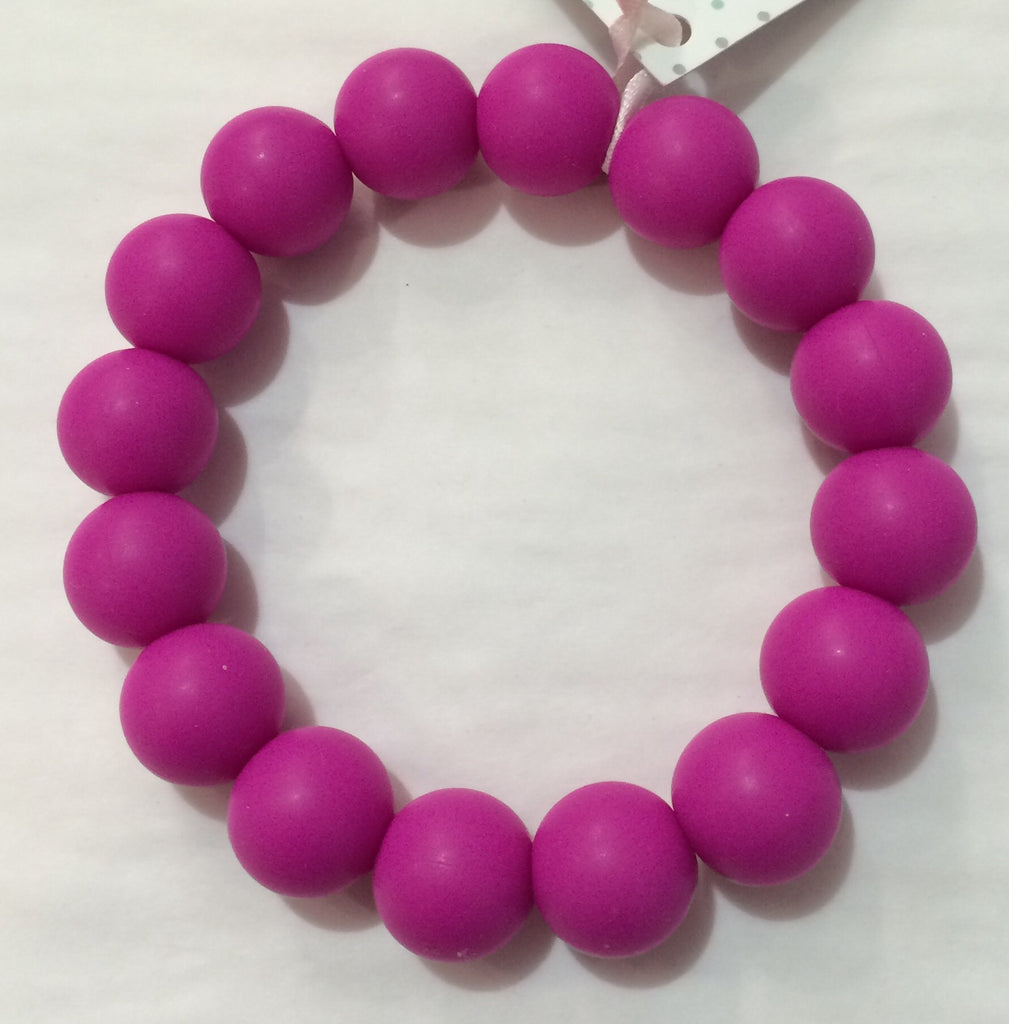 Gummy Wears Bracelet in Boysenberry (Pink) - Sweet Thing Baby & Childrens Wear