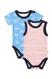Marquise Vacation 2 pk Combo Bodysuit