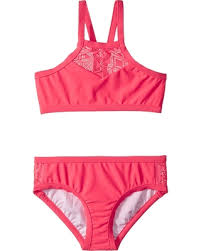 Seafolly Apron Tankini in Jewel Coral (Size 8-14)