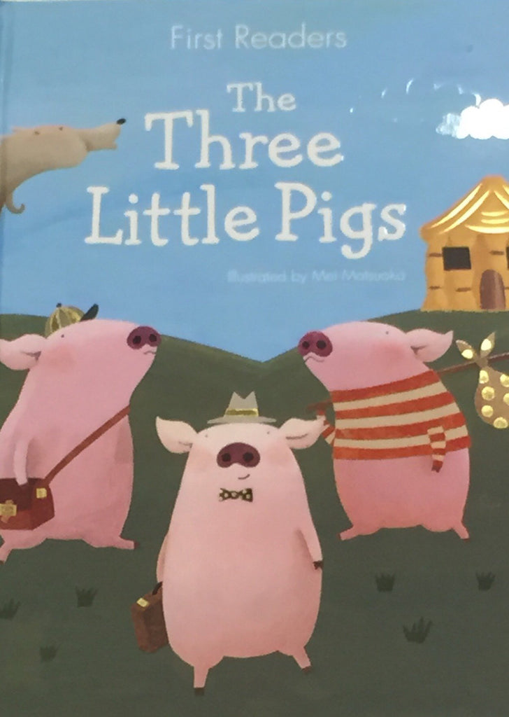 First Readers The Three Little Pigs - Sweet Thing Baby & Childrens Wear