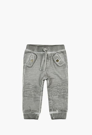 Boboli Fleece Trousers- Grey