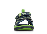 Clarks FRED - Navy/Lime (Size 5-1)