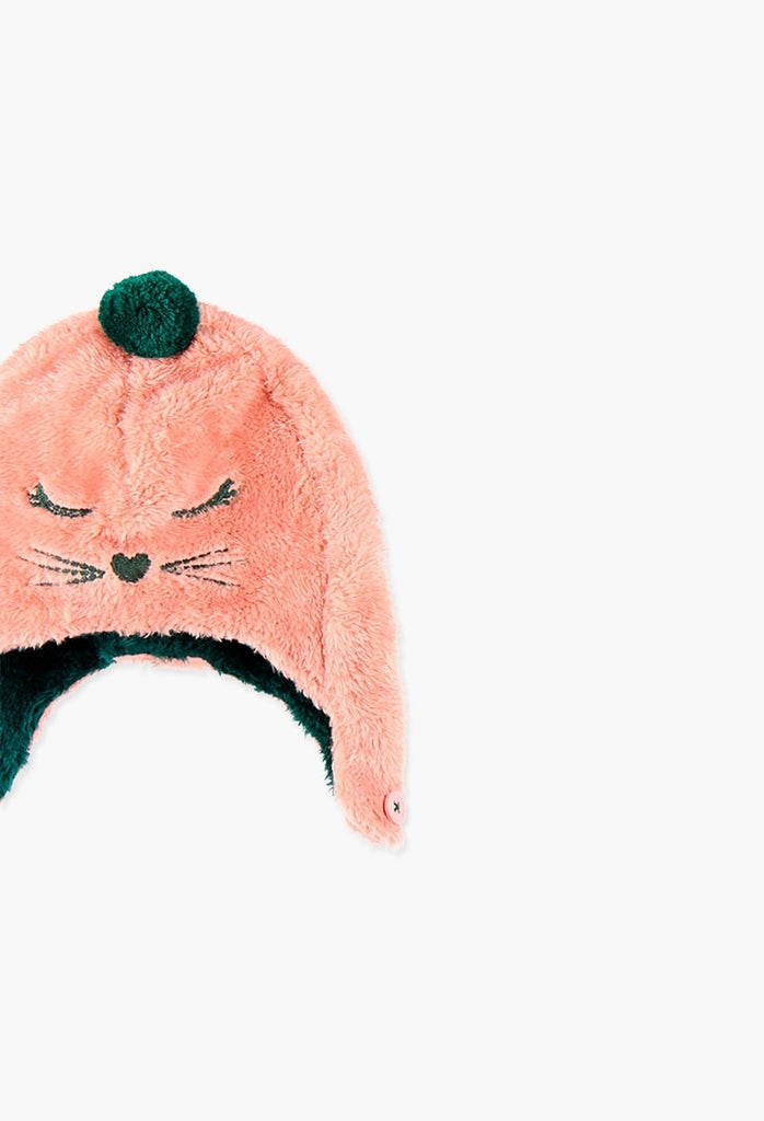 Boboli Fur Hat for girl
