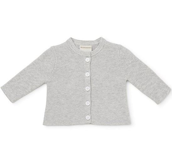 Marquise 100% Knitted Cardigan- Grey - Sweet Thing Baby & Childrens Wear