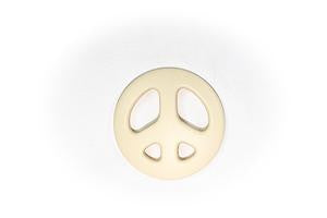 Gummy Wears Peace Teethers in Vanilla - Sweet Thing Baby & Childrens Wear
