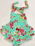 Vintagespired Minty Rose Romper - Sweet Thing Baby & Childrens Wear