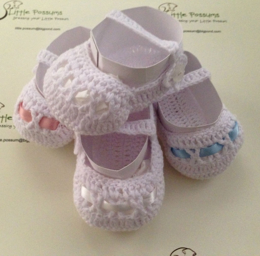 Little Possum Crochet Booties - Sweet Thing Baby & Childrens Wear