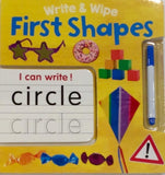 First Shapes Write & Wipe - Sweet Thing Baby & Childrens Wear