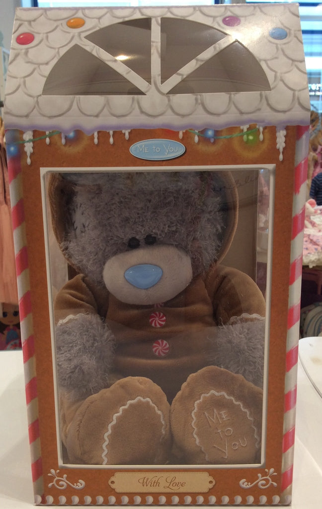 Gingerbread Man Outfit Christmas Tiny Tatty Teddy in a Box - Sweet Thing Baby & Childrens Wear