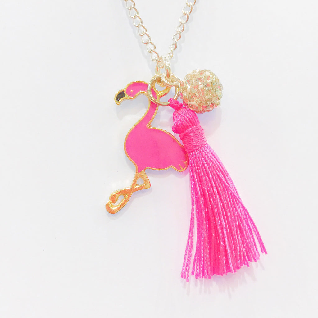 Lauren Hinkley Flamingo Necklace