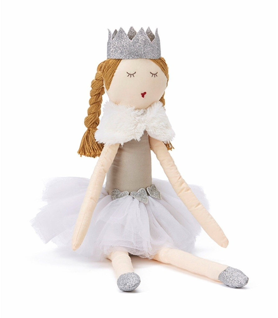 NANA HUCHY RAG DOLL Princess Pearl - White - Sweet Thing Baby & Childrens Wear