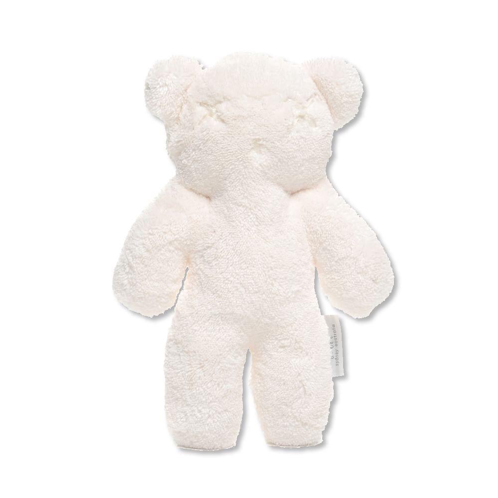 Britt Bear Teddy Snuggles in White - Large - Sweet Thing Baby & Childrens Wear