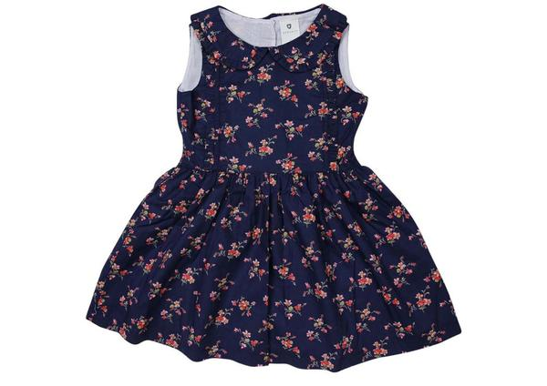 Korango Navy Floral Dress