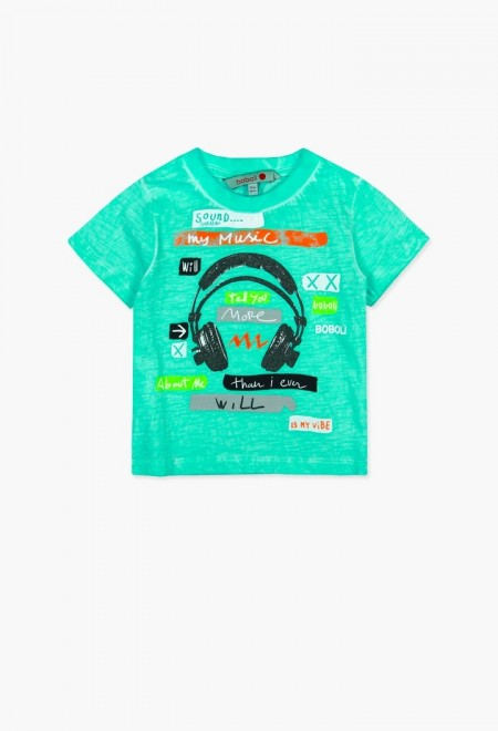 Boboli Headphone Tee