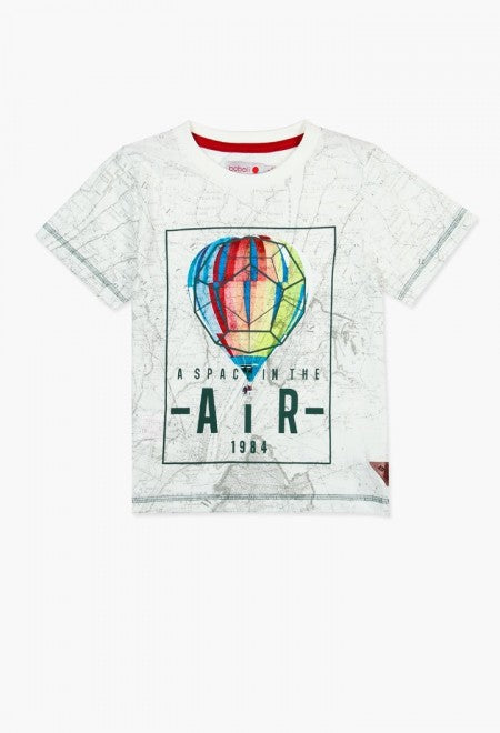 Boboli Boys Hot Air Balloon Tee