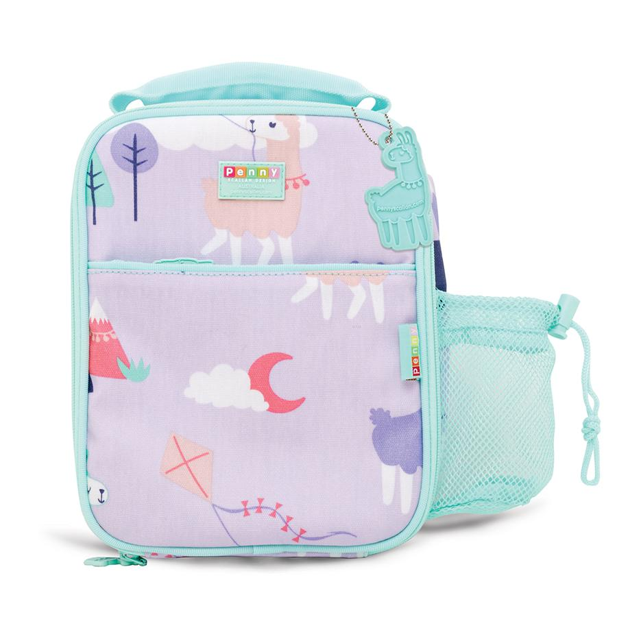 Penny Scallan Bento Cooler Bag with Pocket - Loopy Llama