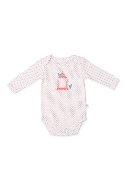 Marquise Dot 2 pce set Studsuit/Bodysuit - Floral/Pink - Sweet Thing Baby & Childrens Wear