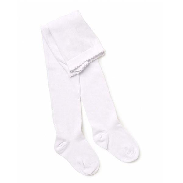 Marquise White Knitted Cotton Tights - Sweet Thing Baby & Childrens Wear