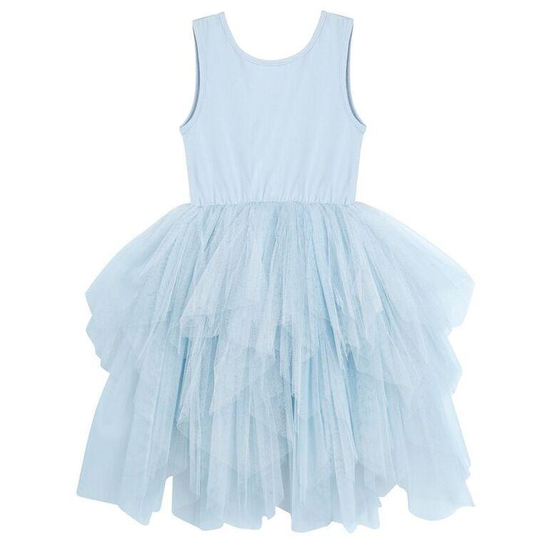 Designer Kidz Melody Tulle Dress in Blue