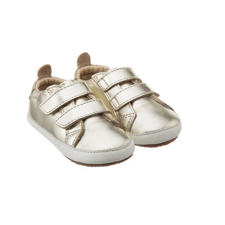 Old Soles Bambini Wings Pink/Silver