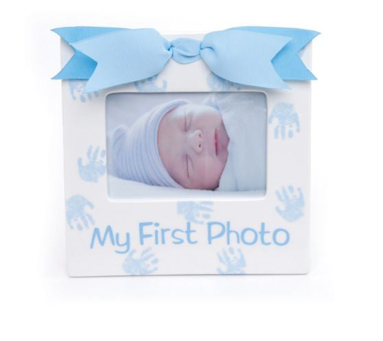 Mudpie Prince 1st Photo Frame Ceramic - Sweet Thing Baby & Childrens Wear