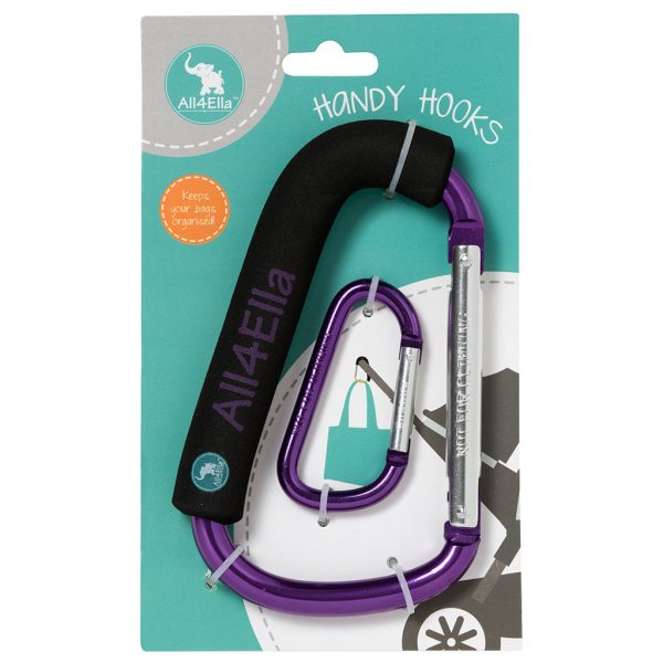 All4Ella Handy Hook - Purple