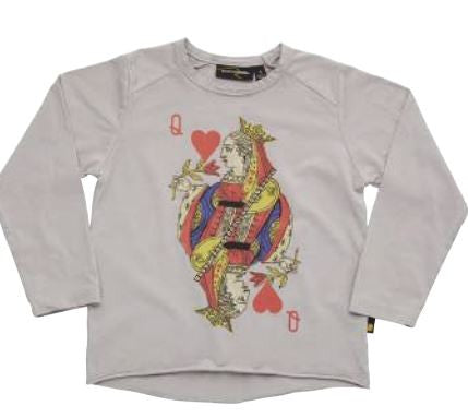 Rock Your Baby My Generation Queen of Hearts L/S Tee - Sweet Thing Baby & Childrens Wear