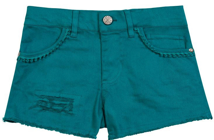 Paper Wings Vintage Shorts-Faded Turquoise - Sweet Thing Baby & Childrens Wear