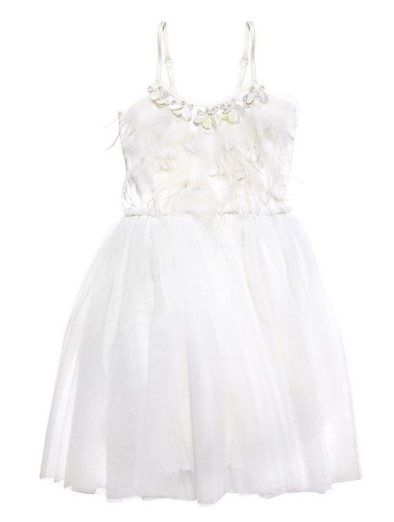 Tutu du Monde STORM CHASER TUTU DRESS - MILK - Sweet Thing Baby & Childrens Wear