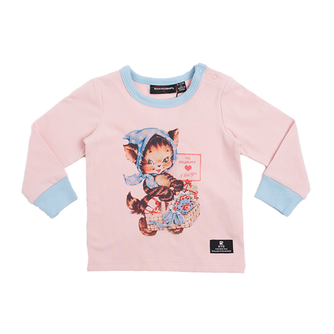 Rock Your Baby Candy Girl L/S T-Shirt - Blue