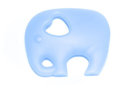 Gummy Wears Elephant Teethers in Ice Blue - Sweet Thing Baby & Childrens Wear