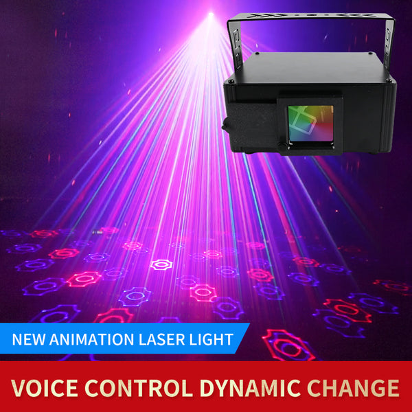 KTV™ Colorful pattern laser light