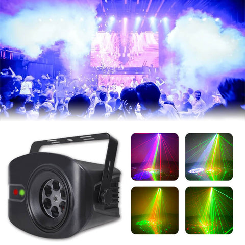 Colorful pattern laser light