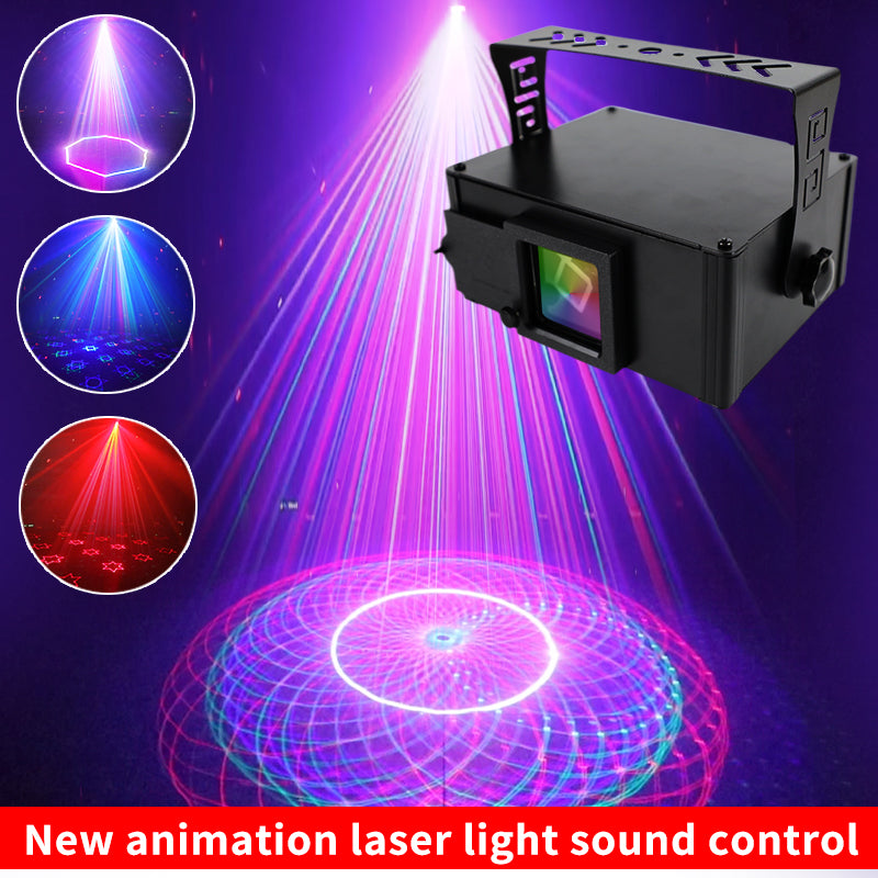NEW 15 EYES LASER STROBE LIGHT