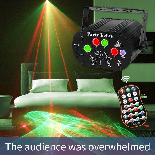 KTV™ Six Eye Scanning RGB Laser Stage Light