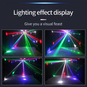 16 lamp beads laser moving head light
