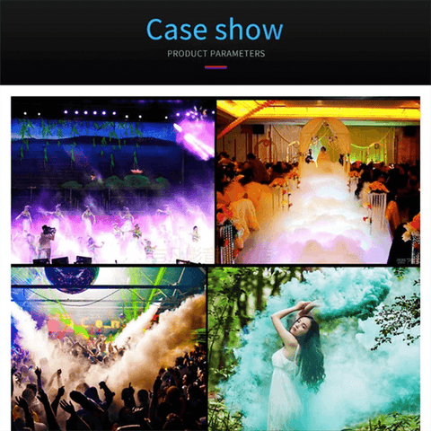 Image of Colorful stage smoke machine 500W