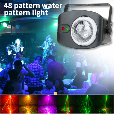 water ripple stage lights