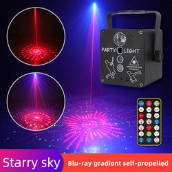 Three-color mini laser light