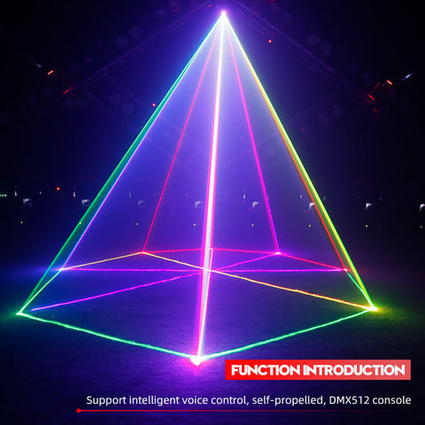 Image of Full color laser pattern light
