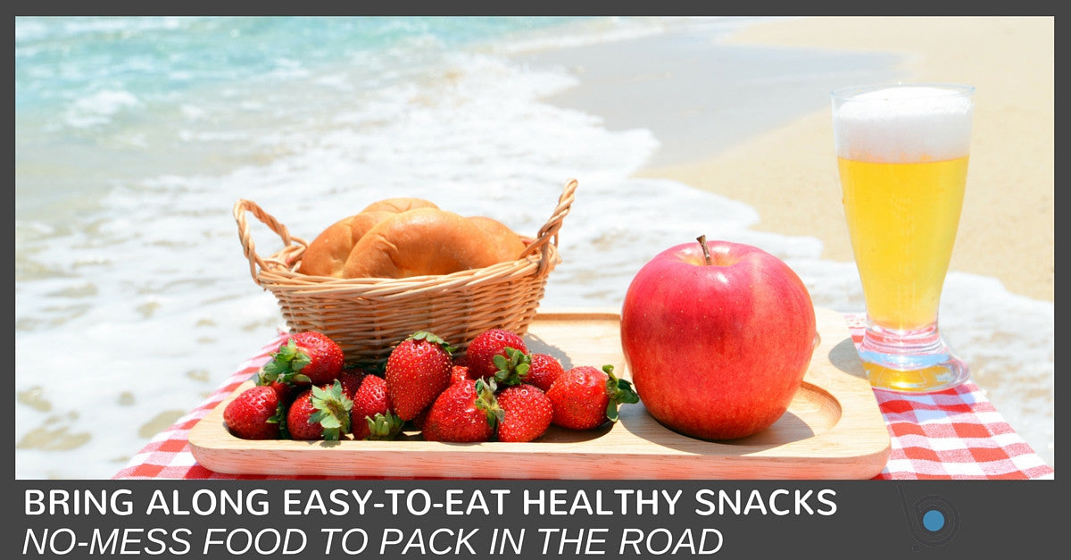 6 No-Mess Healthy Snacks to Pack for the Road