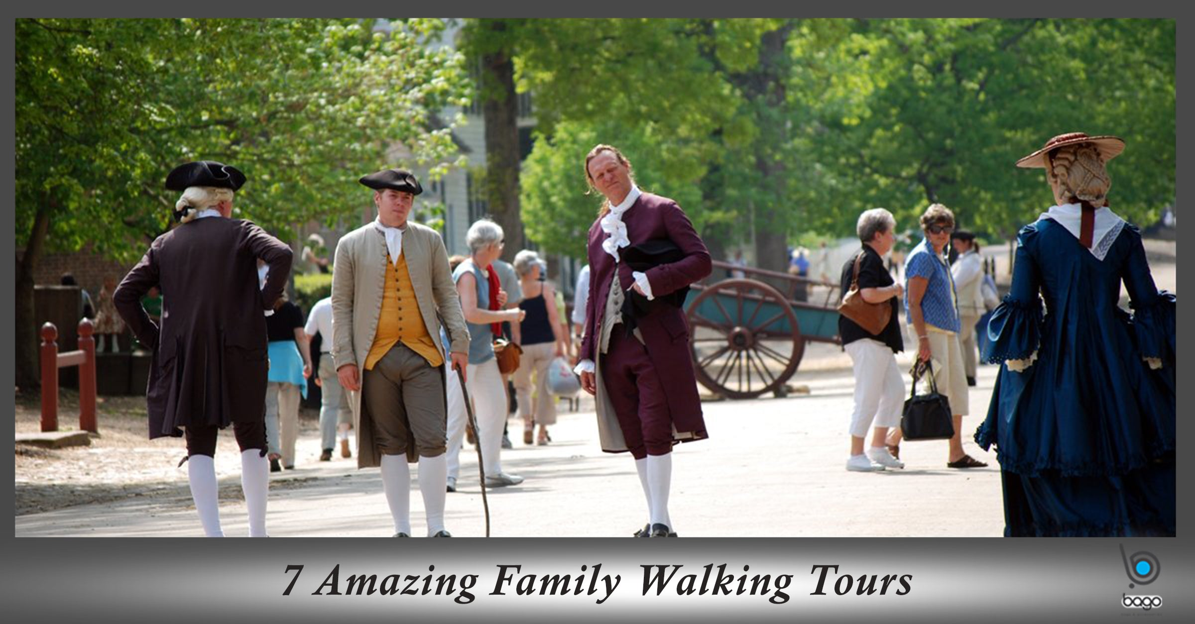 7 Amazing Family Walking Tours