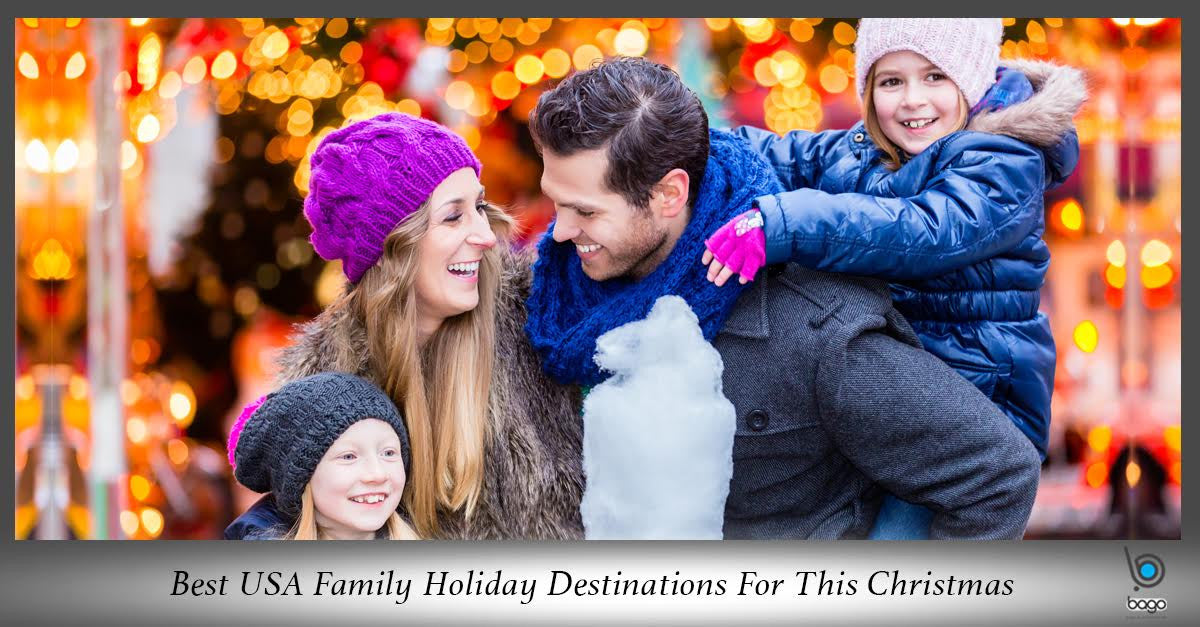 Best USA Family Holiday Destinations For This Christmas