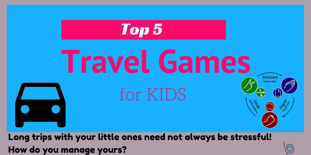 Top 5 Kids Travel Games