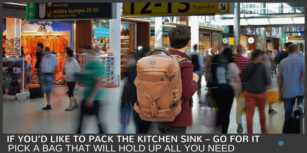 Yes, You Can Even Pack the Kitchen Sink